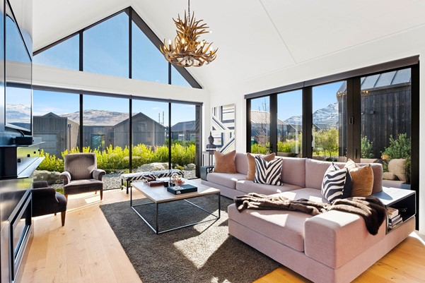 Living Area Queenstown Feature Home | David Reid Homes