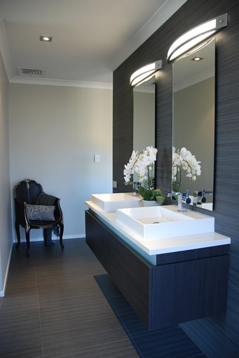 Narrow Bathroom Inspiration - Bathroom Design Ideas