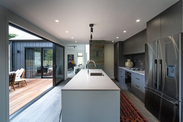 Kitchen in Sycamore Estate, New Plymouth Show Home | David Reid Homes