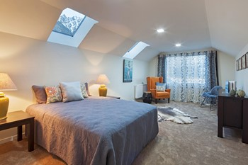 Master Bedroom with Skylights - Bedroom Design Ideas