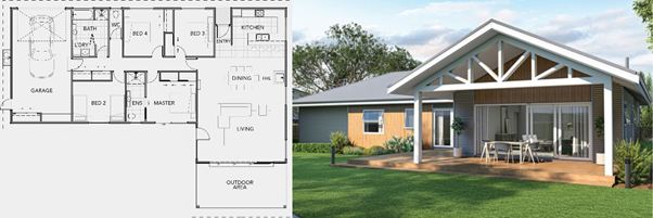 Our Mainland 224 House Plan | David Reid Homes