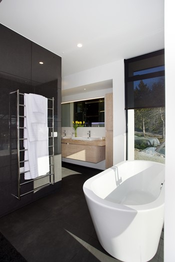 Contemporary Bathroom (Grey) - Bathroom Design Ideas