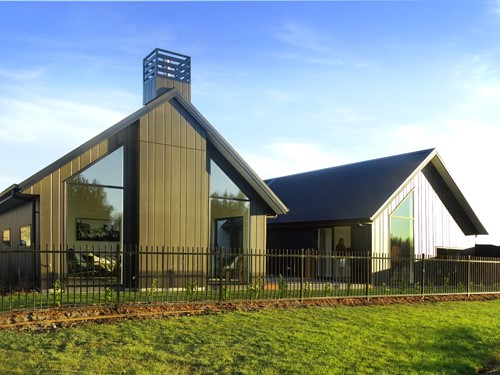 Highsted subdivision show home in Christchurch