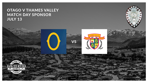 Otago v Thames Valley Swampfoxes Ranfurly Shield Match July 13 2019.