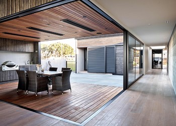 Best new home builders NZ, exterior kitchen